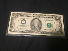 """New listing 1990 $100 Frn Federal Reserve Note """"Ink Bleed Error"""" Beautiful Condition!"""