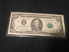 "1990 $100 Frn Federal Reserve Note ""Ink Bleed Error"" Super Rare"