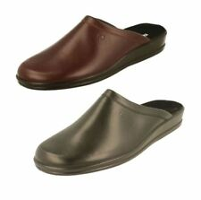 Rohde 100% Leather Upper Slippers for Men