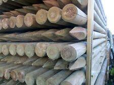 Palo tondo in legno con punta Ø 80 x 1500  per recinzioni steccati staccionata