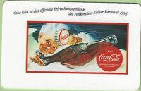 TK 127 USA Sprint Telefonkarte/Phonecard Kölner Karneval 1996 Coca Cola