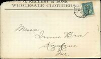 Canada 1904 COMMERCIAL Post Card from ONT to QUE with Scott #89 stamp