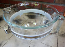 Six Quart Glass Bowl For KitchenAid Stand Mixer W10511948 Lift