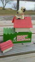 Vintage 1968 Snoopy Pencil Sharpener *Incomplete*