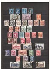 N°181  FRANCE ( 1907-1947 )  41 timbres oblitérés