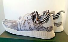 Adidas NMD_R1 Primeknit ultra boost SIZE 16 white white black BRAND NEW IN BOX