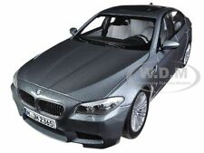 2012 BMW M5 F10 SPACE GREY 1/18 DIECAST CAR MODEL BY PARAGON 97016