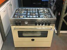 Bertazzoni Master Series MAS905MFES 5 Burner 90cm Dual Fuel Range Cooker - Cream