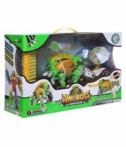 Dinobots Stegosaurus Dinosaur Dino Robot Transformer Soft Foam Blaster Gun