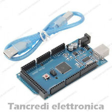 SCHEDA ARDUINO COMPATIBILE MEGA ATMEGA 2560 R3 SHIELD + CAVO USB INCLUSO