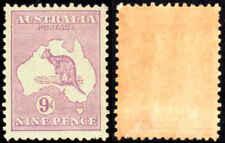 Australia ROO 9d Wmk 203 Mint Hinged Remnant   (bb)