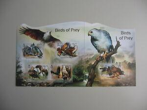 SOLOMON ISLANDS, Block BIRDS OF PREY, 2012,  **/MNH