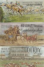 Irish Sweepstakes Group of 3 1961 Booklets