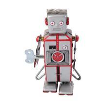 Jouet Mécanique Ancien Robot MS502A en Métal Collection Enfant
