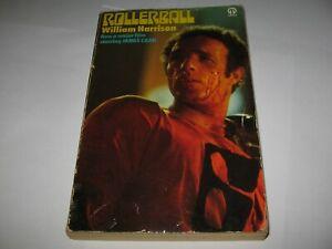 ROLLERBALL by WILLIAM HARRISON - RARE 1975 VINTAGE PB  FILM TIE-IN  Orbit/Futura