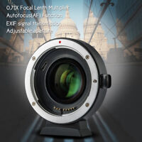 Viltrox EF-EOS M2 Auto Focus Lens Mount Adapter Ring for Canon EF to EOS EF-M