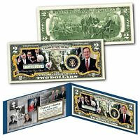 GEORGE H.W. BUSH 1924-2018 Commemorative Official 41st President U.S. $2 Bill