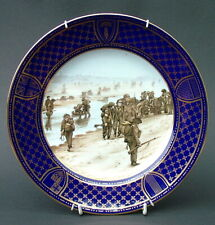 Spode Ltd Ed Operation OverLord D Day Landings Wall Plate 23cm Sword Beach VGC