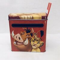 Disney The Lion King Timon Pumbaa Simba Tin Valentine Mailbox
