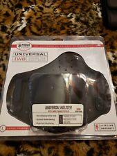 Fobus Tuckable Universal IWB Large Frame Pistol Belt Holster Black IWBL