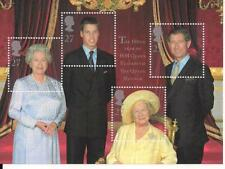 2000 GB QE2 QUEEN MOTHERS 100TH BIRTHDAY COMMEMORATIVE MINI SHEET SG MS2161