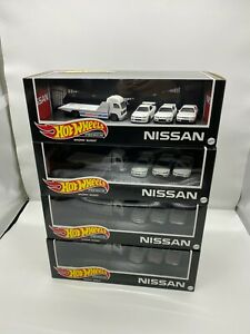 Hot Wheels PREMIUM NISSAN GT-R Box Set (Crazyier SALE)