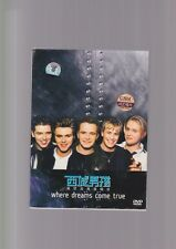 WESTLIFE - WHERE DREAMS COME TRUE 2 dvd with poster and flyer