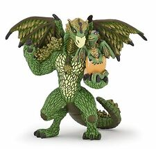 Forest Dragon Green 4 11/16in Fantasy Papo 39089