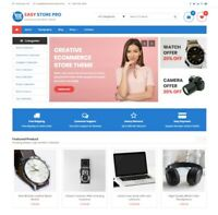 Established WordPress Premium E-Commerce Store w/ Woo-Commerce & Yith Wishlist