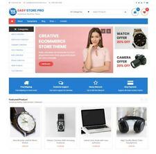 Established WordPress Premium E-Commerce Store w/ Woo-Commerce & Yith Wishlist