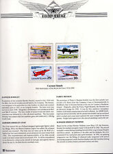 1998 Caymen Islands , 80 years of the Royal Air Force  Aviation Heritage series