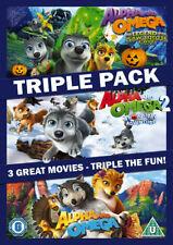 "Alpha & Omega Triple Pack (DVD-2014) Region 2.""THREE GREAT MOVIES"". New & Sealed"