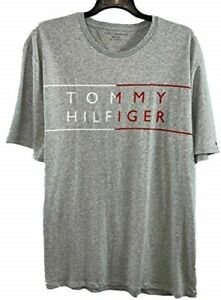 NEW Men's Tommy Hilfiger Graphic Solid T Shirt Tee Short Sleeve Soft Variety
