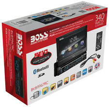 "Boss BVB9967RC Single Din  Bluetooth DVD/CD/MP3/USB/SD Receiver 7""  w/ Camera"