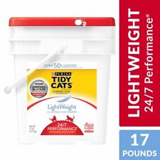 Purina Tidy Cats Light Weight Low Dust, Clumping Cat Litter Free & Clean 17 lb