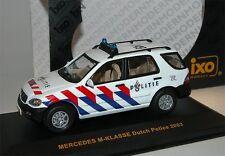 IXO MOC050, Mercedes-Benz M-Klasse POLITIE Dutch Police, Polizei NL, 1/43 OVP