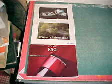 1994 VOLVO 850 OWNER'S GLOVEBOX MANUAL very good condition