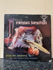 Decca SXL 2009 BERLIOZ Symphonie Fantastique ARGENTAWBg ffss Blue Border ED1