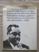 Storyville  Jazz  #1 Oct 1965 Omer Simeon & Zue Robertson