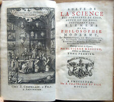 1752 – MASSUET, SUITE DE LA SCIENCE ... – FISICA ASTRONOMIA PHYSIQUE ASTRONOMIE