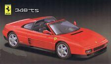Fujimi 12211, 1/24  Ferrari 348ts      Plastic Model kit