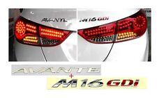 2011+ Hyundai ELANTRA OEM Avante + M16GDi 1SET/2ea Letter Logo Emblem Badge