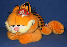 TY GARFIELD THE CAT BEANIE BUDDY - LAYING DOWN VERSION - MINT with MINT TAGS