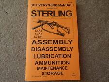 British Sterling L1A1 A2 L34 9mm  Semi Auto or Sub Machine Gun Manual 48 pages