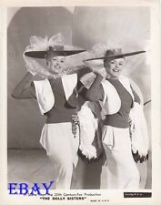 Betty Grable sexy, June haver VINTAGE Photo Dolly Sisters