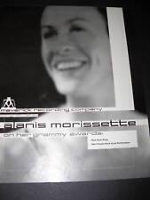 Alanis Morissette 1999 Promo Poster Ad for Grammy Award