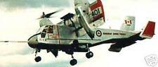 CL-84 Dynavert Canadair Airplane Desktop Wood Model Big