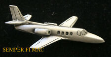 CESSNA CITATION JET AUTHENTIC PEWTER HAT PIN T-47 UC-35 WOW!!!