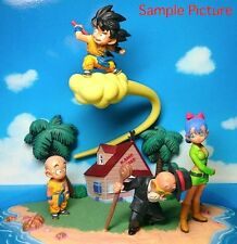 Dragon Ball Z Diorama Figure Set Vol.1 Gokou Krillin Bulma Kame-sennin JAPAN
