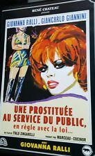 DVD du film UNE PROSTITUÉE AU SERVICE DU PUBLIC en règle avec la loi - RARE